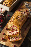 Homemade Festive Cranberry Bread Royalty Free Stock Images