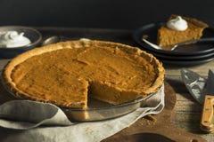 Homemade Festive Sweet Potato Pie. For Thanksgiving Stock Images