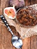 Homemade Fig Jam Stock Photography