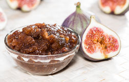 Homemade Fig Jam Stock Image