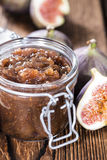 Homemade Fig Jam Royalty Free Stock Photos