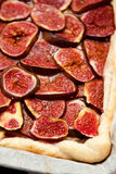 Homemade fig pie Stock Photography