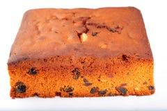Homemade flat plum cake. Royalty Free Stock Images
