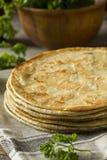 Homemade Flour Indian Paratha Bread Stock Photography