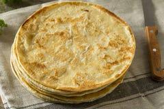 Homemade Flour Indian Paratha Bread Royalty Free Stock Photo