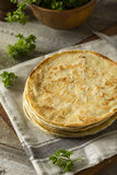 Homemade Flour Indian Paratha Bread Royalty Free Stock Image