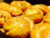 Homemade Food,Pastry, Pogaca, Turkish Cuisine, Delicious Stock Photography