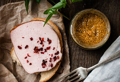 Homemade food Stock Photos