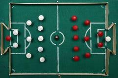 Homemade football field Stock Image