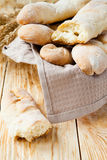 Homemade French Bread Royalty Free Stock Photos