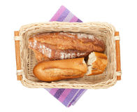 Homemade french bread Royalty Free Stock Photo