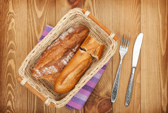 Homemade french bread Royalty Free Stock Image