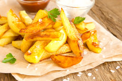 Homemade french fries Royalty Free Stock Photography