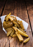 Homemade French Fries Royalty Free Stock Photos