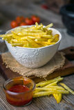 Homemade french fries Stock Photo