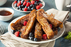 Homemade French Toast Sticks Royalty Free Stock Photos