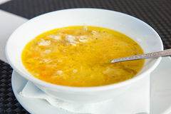 Homemade fresh soup Stock Images