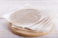 Homemade fresh wheat flour Chapathi,Homemade fresh Hot Chapati. stock image