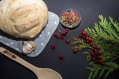 Homemade freshly baked bread royalty free stock photo