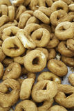 Homemade fried donuts Stock Images