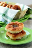 Homemade fried pies with meat Royalty Free Stock Image