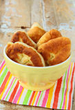 Homemade fried pies with potatoes Royalty Free Stock Image