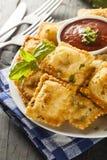 Homemade Fried Ravioli with Marinara Sauce Royalty Free Stock Image