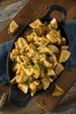 Homemade Fried Spanish Patatas Bravas Royalty Free Stock Photography