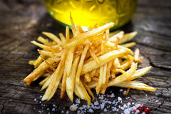 Homemade fries Royalty Free Stock Photos
