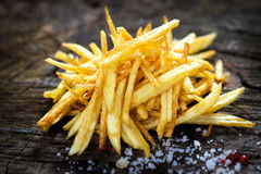 Homemade fries Royalty Free Stock Photography