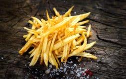Homemade fries Stock Photos