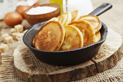 Homemade fritters Royalty Free Stock Image