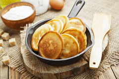 Homemade fritters Stock Image