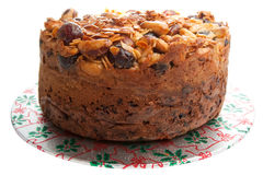 Homemade Fruit Cake Royalty Free Stock Photo
