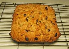 Homemade fruit cake heavy cake Royalty Free Stock Images