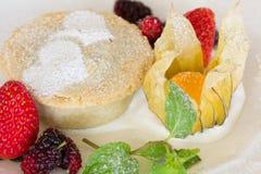 Homemade fruit cakes Stock Photos