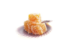 Homemade fruit candy Royalty Free Stock Images