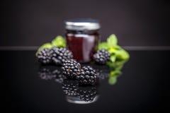 Homemade fruit jam Royalty Free Stock Images