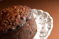 Homemade Fruitcake Royalty Free Stock Photo