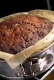 Homemade Fruitcake Royalty Free Stock Image