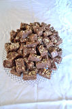 Homemade Fudge Candy Royalty Free Stock Images