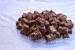 Homemade Fudge Candy Royalty Free Stock Photo