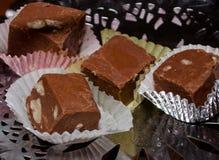 Homemade fudge Stock Photo