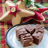 Homemade Fudge Royalty Free Stock Photography