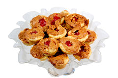 Homemade Fussies Cookies Royalty Free Stock Photos