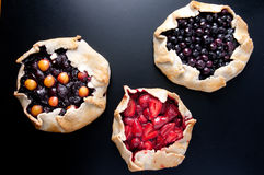 Homemade galettes Royalty Free Stock Photo
