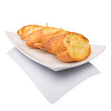 Homemade Garlic Bread III Royalty Free Stock Images