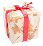 Homemade gift package for a holiday Royalty Free Stock Photo