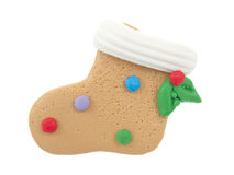 Homemade ginger bread  sox Royalty Free Stock Photo