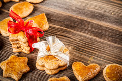 Homemade ginger cookies Royalty Free Stock Photo